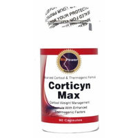 Corticyn MAX # - 90 Capsules - Lose Belly Fat - Cortisol & Thermogenic Formula - BioPower Nutrition