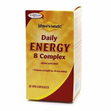 Enzymatic Therapy Fatigued to Fantastic! Daily Energy B Complex, Veg Capsules 30 ea