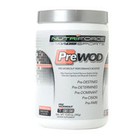 Nutriforce Sports PreWod Pre-Workout Booster Fruit Punch
