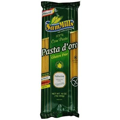 Sam Mills Pasta D'Oro Gluten Free Fettuccine, 1-Pound (Pack of 12)