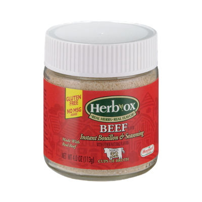 Herb-Ox Beef Instant Bouillon & Seasoning