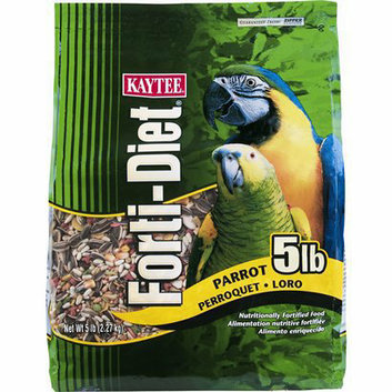 Kaytee Parrot Forti-Diet Bird Food - 5 lb.