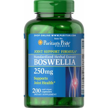 Puritan's Pride Boswellia Standardized Extract 250mg-200 Capsules