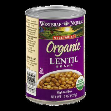 Westbrae Natural Vegetarian Organic Lentil Beans