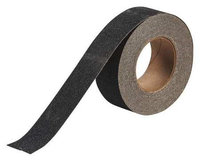 BRADY 52423 Antislip Tape, Black,2 In x 60 ft.