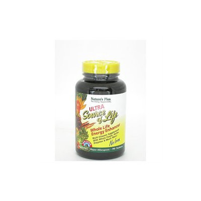 Nature's Plus - Ultra Source Of Life With Lutein No Iron - 90 Tablets