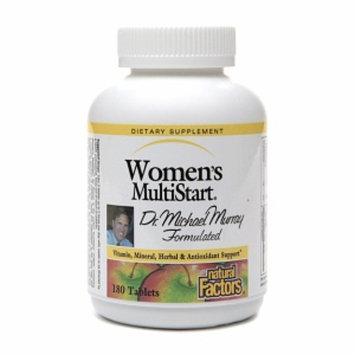 Natural Factors Women's MultiStart Multivitamin