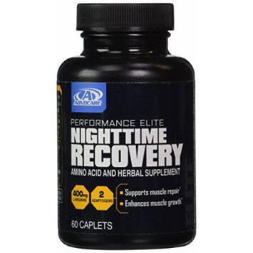 Advocare Nighttime Recovery Amino Acid and Herbal Supplement 60 Caplets