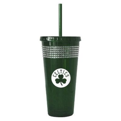 Boelter Brands NBA 2 Pack Boston Celtics Bling Straw Tumbler - Green
