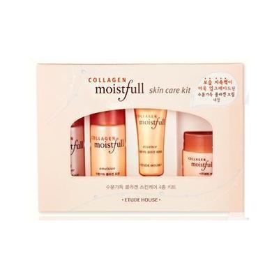 Etude House Moistfull Collagen Skin Care Sample Kit (4pcs)