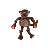 HuggleHounds Tuffut Chimp Dog Toy - Large