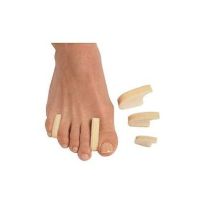 Pedifix Toe Separator Pedifix 3 Layer Toe Separators - 6 Per Pk