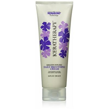 KERATHERAPY Daily Smoothing Cream, 6.8 Fluid Ounce