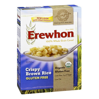 Attune Foods Erewhon Organic Crispy Brown Rice 100% Whole Grain Cereal