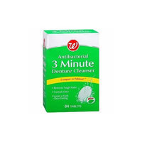 Walgreens Denture Cleanser Tabs, Mint, 84 ea