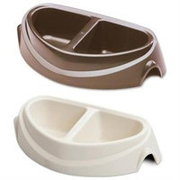 Doskocil Small Heavyweight Microban Double Dish 23180