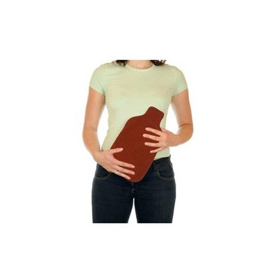 Relaxso Hotties Bottle Body Warmer, Natural Bamboo Pomegrante
