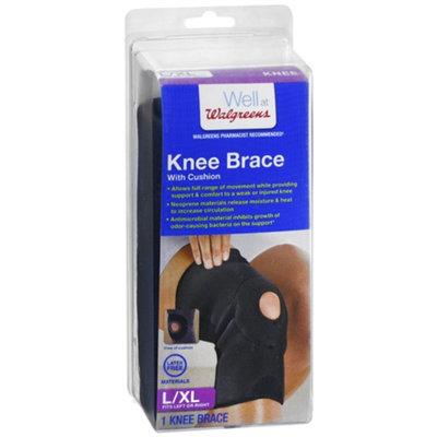 Walgreens Knee Brace with Cushion, Large/XL, 1 ea