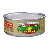 Genova Tonno Solid Light Tuna in  Olive Oil