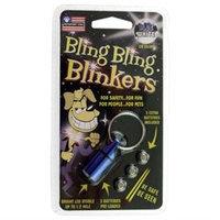 Petsport USA Inc Blue & White LED Bling Bling Blinkers