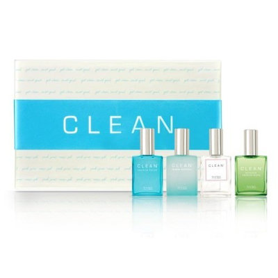 CLEAN Coffret Set, 4 Piece Fragrance Collection 1 oz. each