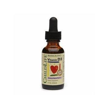 ChildLife Vitamin D3 Formula, Mixed Berry 1 fl oz (29.6 ml)