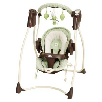 Graco Sprout 'n Grow 2-in-1 Swing and Bouncer Collection - Sweet Pea