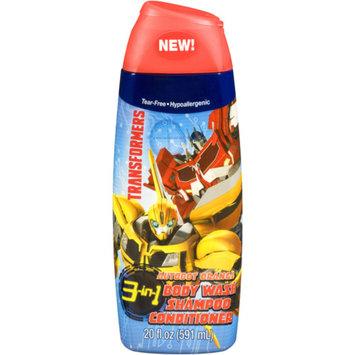 Transformers Autobot Orange 3-in-1 Body Wash, Shampoo, and Conditioner, 20 fl oz