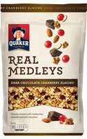 Quaker® Real Medleys® Dark Chocolate Cranberry Almond Granola Cereal
