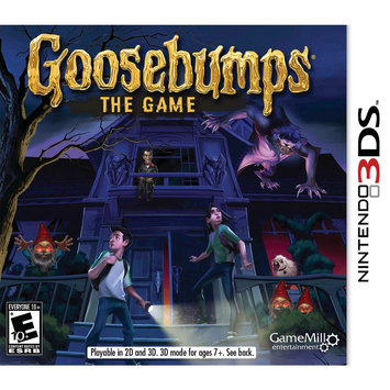 Game Mill Entertainment Goosebumps: The Game (Nintendo 3DS)