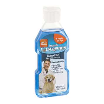 Sergeant's Vetscription Benadene Hot Spot Formula For Puppies and Dogs