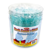 Espeez Rock Candy Sticks, 7in, Light Blue, Pack Of 36