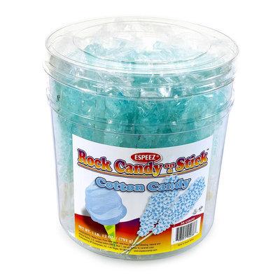 Espeez Rock Candy Sticks, 7in, Light Blue, Pack Of 36
