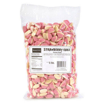 Kervan Strawberry Cake Gummies, 5-Lb Bag