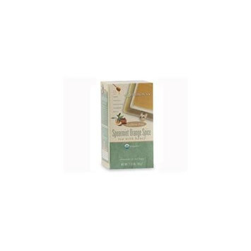 Davidson's Davidson Organic Tea 2538 Spearmint Orange Spice Tea, Box of 25 Tea Bags