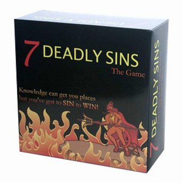 Kheper Games LLC 7 Deadly Sins, The Game, 1 ea