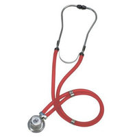Graham Field Labtron Sprague Rappaport-Type Stethoscope Color: Red