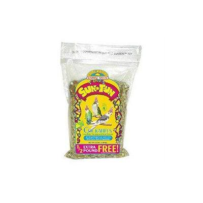 Sun Seed Sun Fun Enriched Cockatiel Formula Bird Food 3.5-lb bag