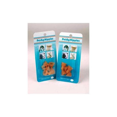 Pet Ag 2oz Replacement Nipples 5pk
