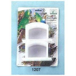 Prevue Pet Products BPV1207 High Impact Plastic Winged Cups