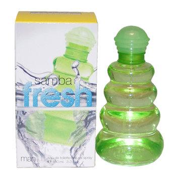 Samba Fresh by Perfumers Workshop for Men 3.3 oz EDT Spray