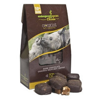 Endangered Species Chocolate Co-Exist Pouch,Dark Chocolate Covered Hazelnut Toffee (Black Rhino), 3-Ounce Pouches (Pack of 6)