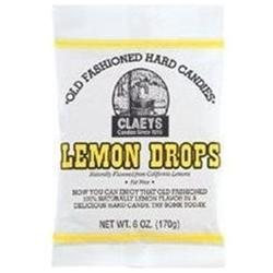 Claey's Candy Lemon Candy 6 Ounces