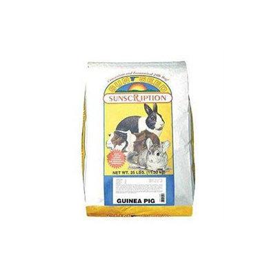 Sunseed Sun Seed Company SSS13039 Guinea Pig Pellets 25lb