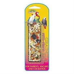 Sun Seed Company .Sun Seed Grainola Tutti-Frutti Bar for Parrots Macaws & Cockatoos (2.5-oz)