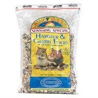 Sun Seed hamster gerbil food 2.5lb/6