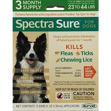 Durvet Spectra Sure Dog Flea Treatment