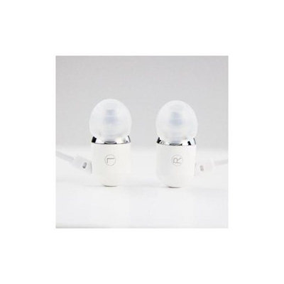 Subjekt SUBJETK White Aluminium Sports Earphones