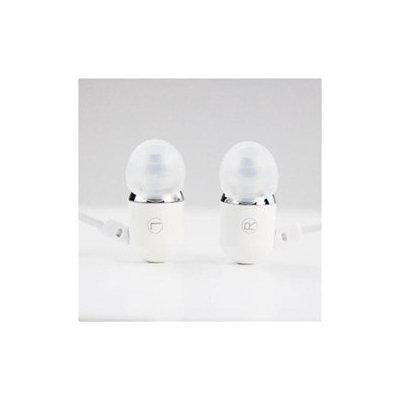 Subjekt SUBJETK White Aluminium Sports Earphones