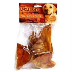 Sergeant's Pig Ear Halves Dog Treat - 5 count